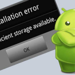 Fix insufficient storage available error in Android!