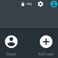 Add a New User or Guest Account in Android 5.0