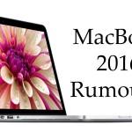 Apple MacBook Air, Pro 2016 release date