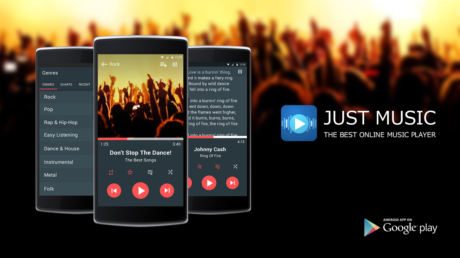 justmusic best music player app