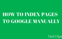 Index Pages to Google