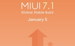 MIUI 7.1 Global Stable Build Has Rolled Out