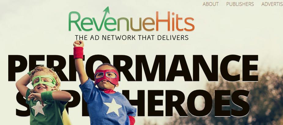 best ad network revenuehits