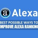Latest Tips To Improve Alexa Rank Quickly.