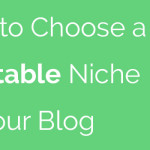 Best Niche To Start A Profitable Blog in 2017