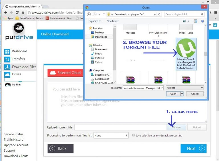 Working) Download Torrent Files with IDM (Torrent to IDM