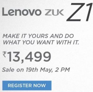 Lenovo Zuk Z1 Specifications, Price and Release Date