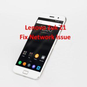 Fix Lenovo Zuk Z1 Network Issue-No Network