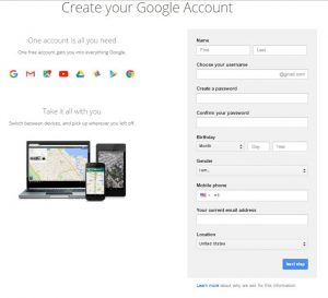 Create www.gmail.com account or Sign in – Stepwise Guide